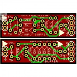 Guitar Pedals Buffer (In&Out)