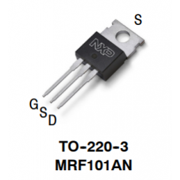 MRF101AN 100 W CW over...