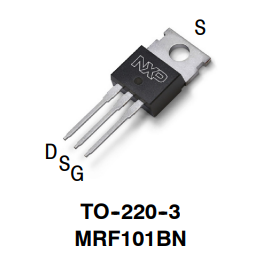 MRF101BN 100 W CW over...