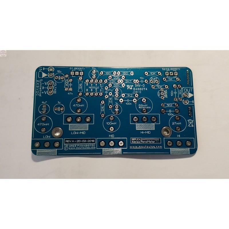 Tube SE 6L6/EL34/KT88 AMP Stereo 8W PCB