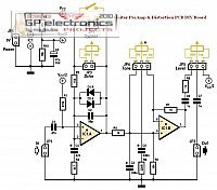 Guitar PreAmp Schematic TS9