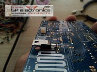 FM PLL RDVV PCB BroadBand NoTUNE 87.5-108MHz 0-8W Broadcast (PCB by moutoulos ™)